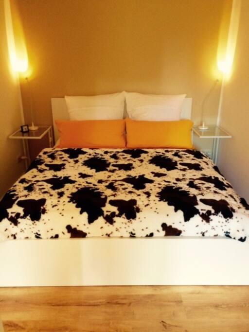 ein Bett zum Träumen....