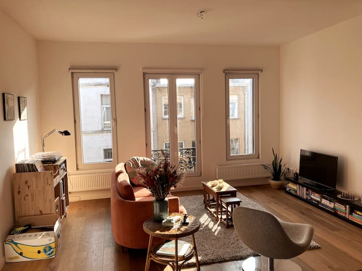 Cosy apartment in the centre of Antwerp