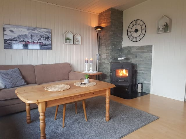 Hytte i fantastiske omgivelser i Neverfjord