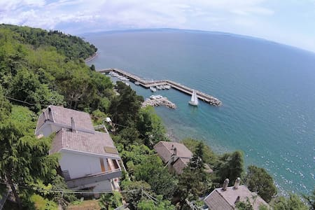 Wonderful seaside villa with private dock! - Trieste - Vila
