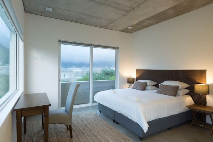 Master bedroom has beautiful uninterrupted views and 2 balconies