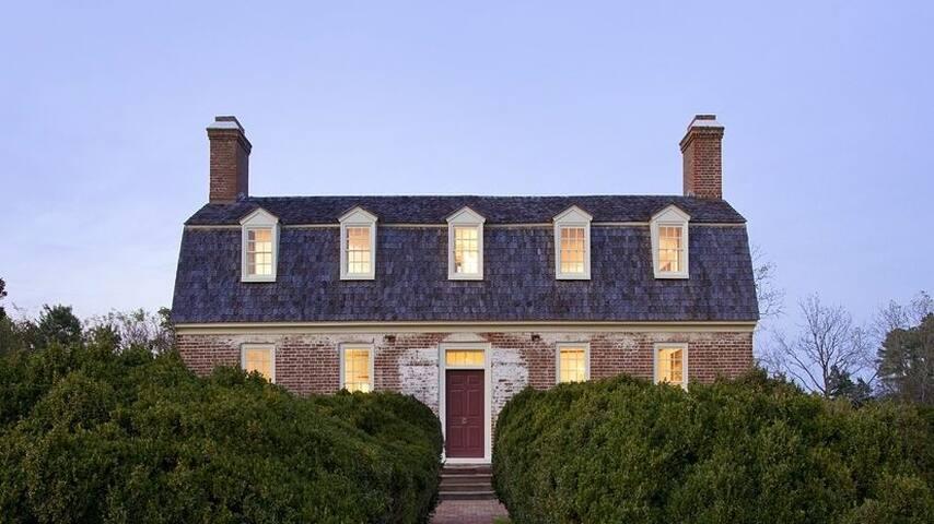 Wilton House at Dusk