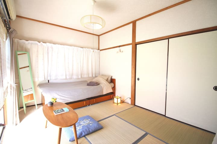 TAMA, TKY: Cozy Japanese Tatami style apartment - Serviced ...