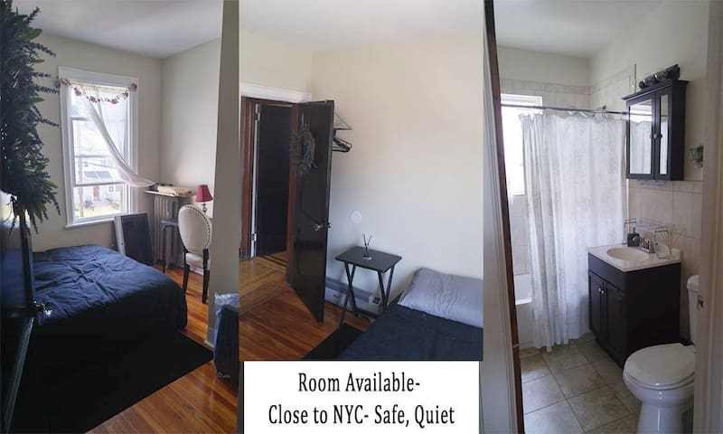 Private Room close to NYC 42nd St & GW Bridge