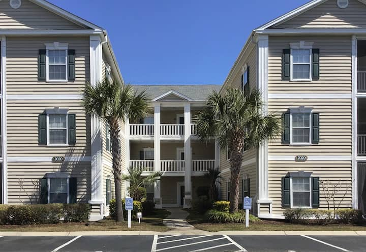 Surfside Beach Spacious Condo, 2BR/2Bths  w/Porch