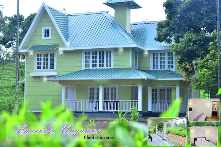 Lavender vagamon - Three Bedroom Plantation stay