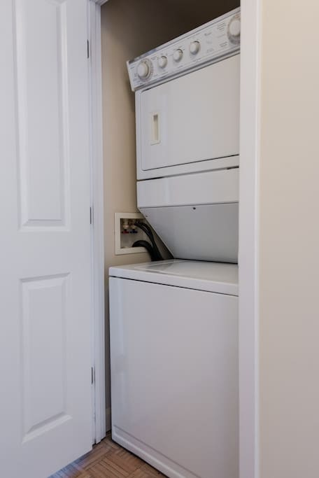 Washer/Dryer Unit