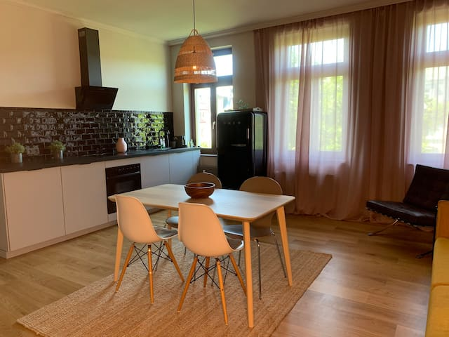 cosy and modern in vibrant west leipzig
