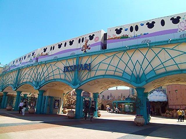6 MIN to Disneyland/IKSPIARI.Free pocket wi-fi. - Urayasu-shi - Pis