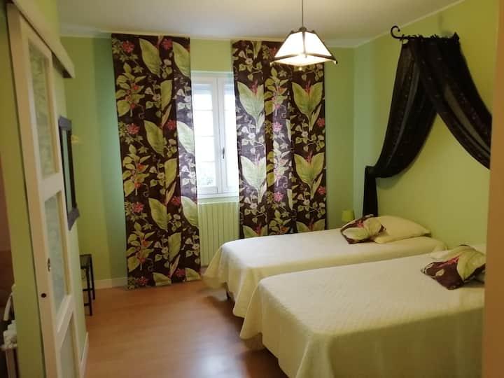 Chambre dans très belle demeure du 16ème à Saumur