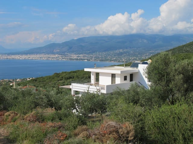 Villa Myria (8P+), heated pool, Kalamata, Messinia - Kalamata - Villa