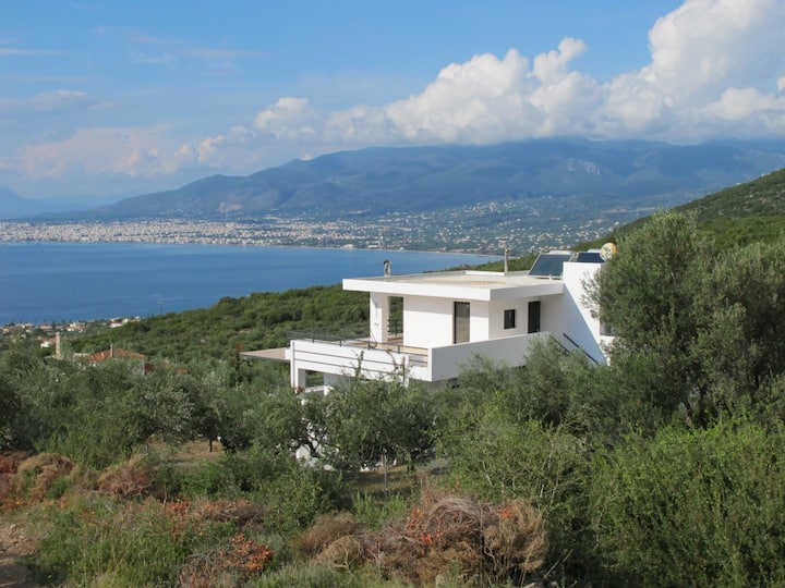 Villa (10P+), heated pool Kalamata, Peloponnese