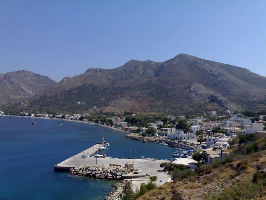 The Port of Tilos.