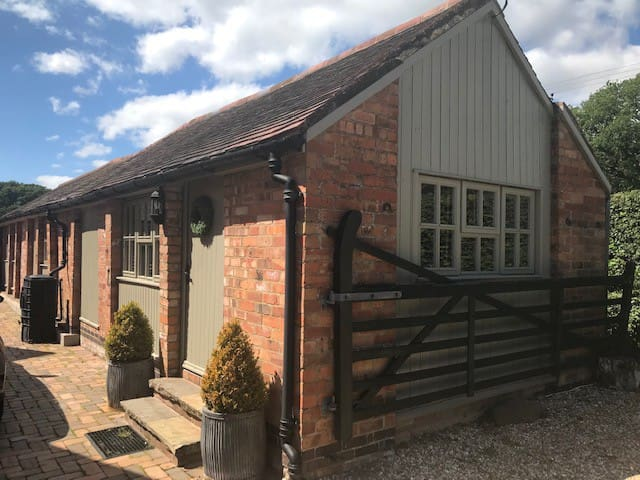Entire stable block in Warwickshire countryside