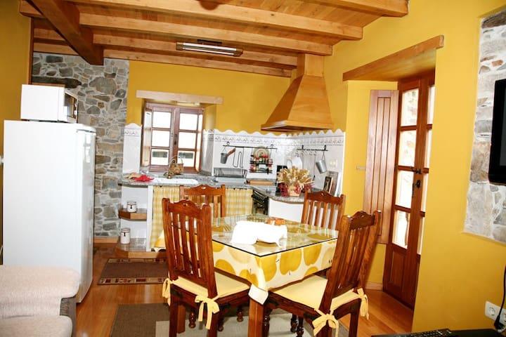 "Casa de aldea "" Casa el Curro"" - LUARCA - Dům"
