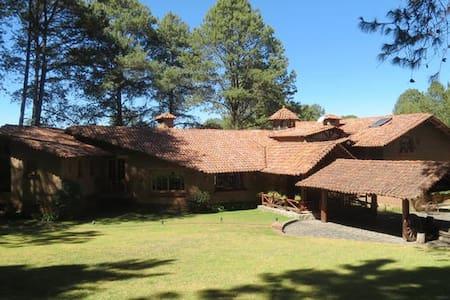Cabaña Hacienda San Francisco, Tapalpa, Jal. - Tapalpa - Stuga