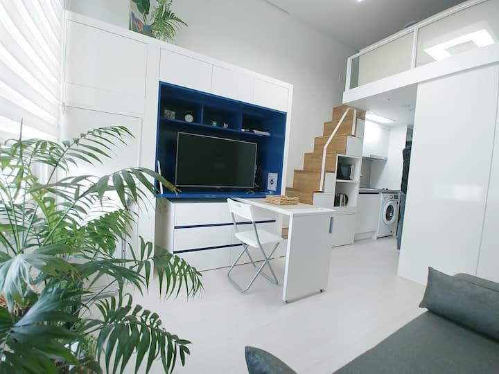 [DayDream #1] 5min☆Hongdae stn/复式公寓/New Open