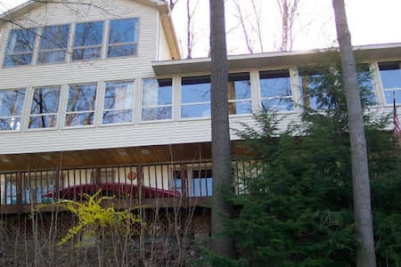 Secluded Waterfront Retreat Pohatcong 1 hr to NYC