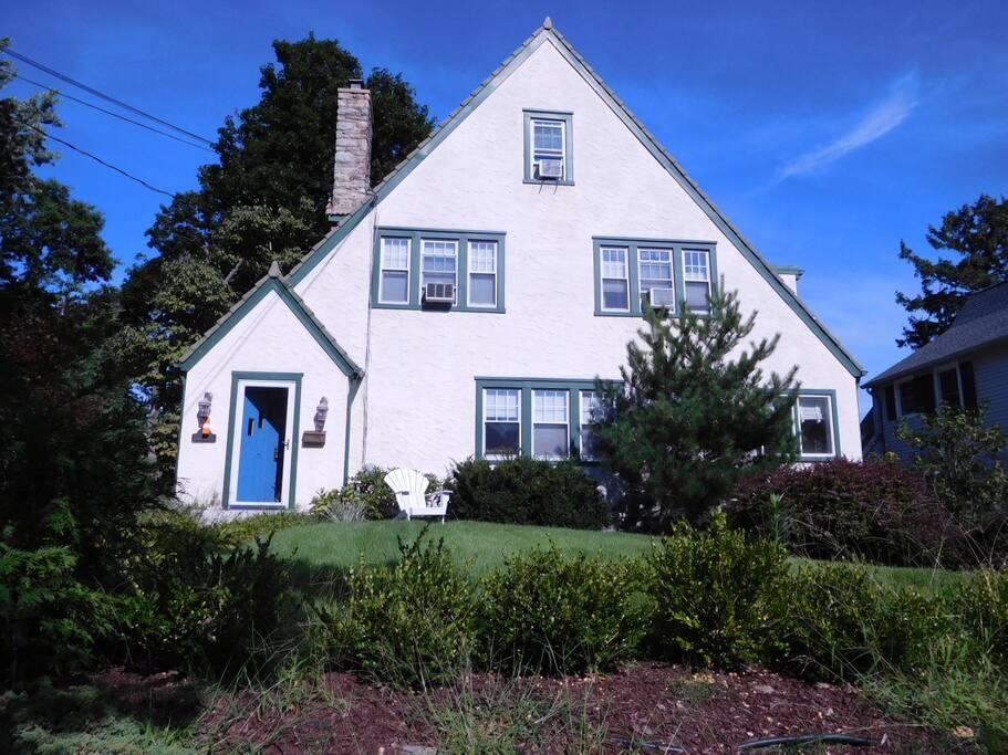 Updated Tudor house