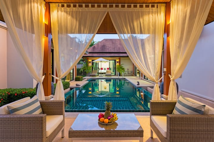 Supremely elegant Balinese pool boutique villa, 3B