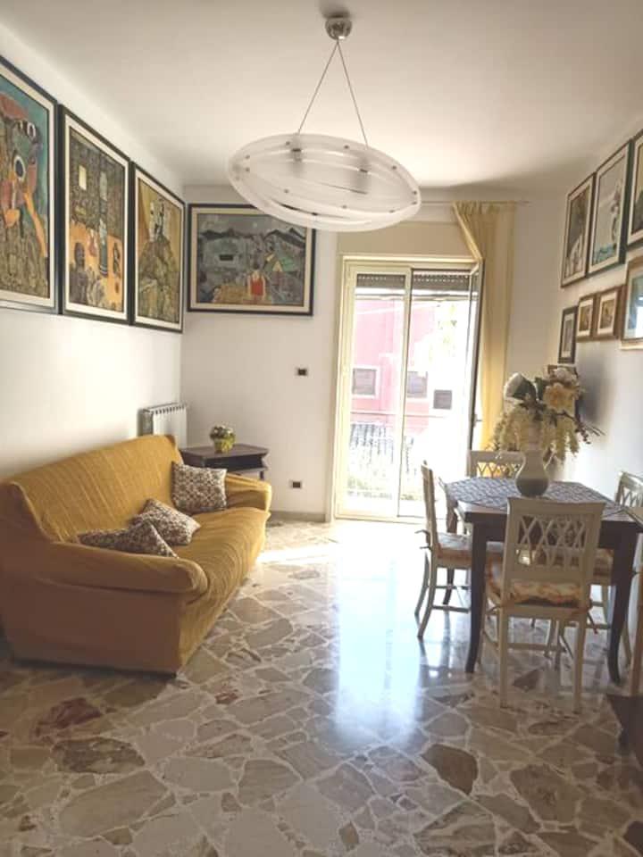 Casa vacanze al centro di san leone