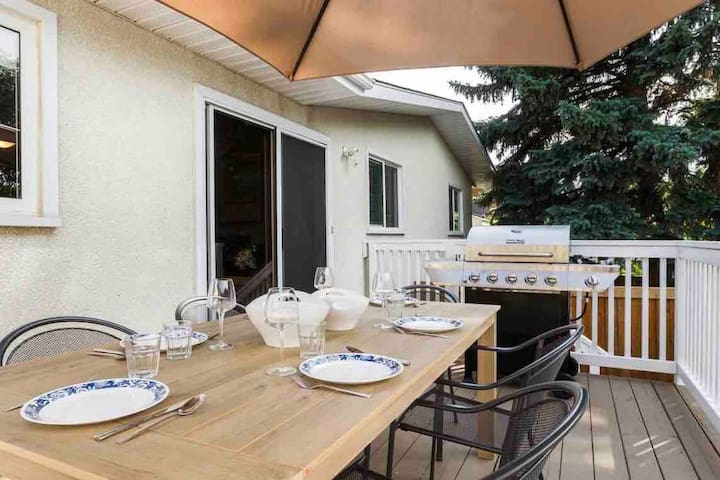 ⭐️2 WEEK DISCOUNT⭐️ 2403ft²- Patio & BBQ -Families