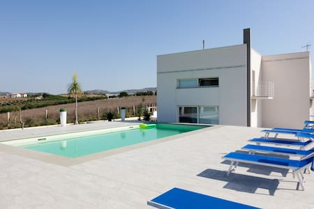 Villa Luna,  with pool and panoramic  view