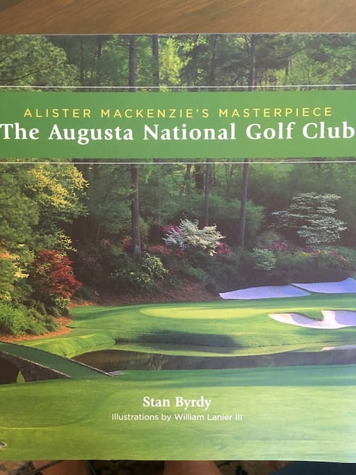 Only 1.2 miles from the Augusta National, many courses within 15 minute drive.