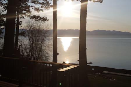 Flathead Lake Cabin - Somers - Mökki
