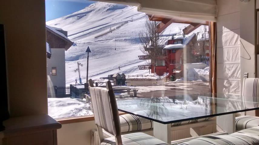 Slopeside Apartment in La Parva resort--Ski Chile