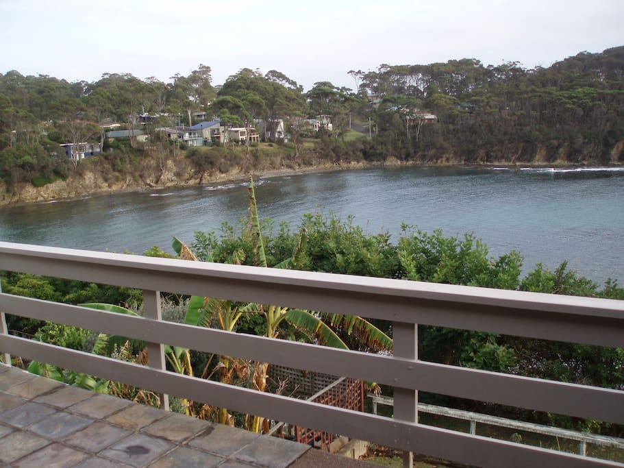looking into Mosquito Bay
