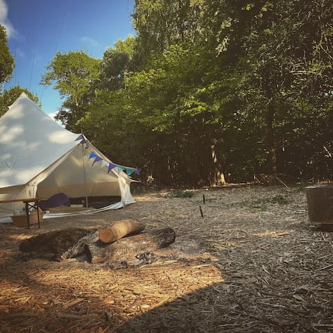 Woodland Bell Tent perfect escape