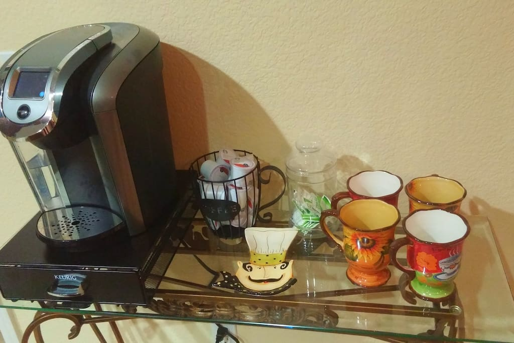 Coffee bar with all the fixins!