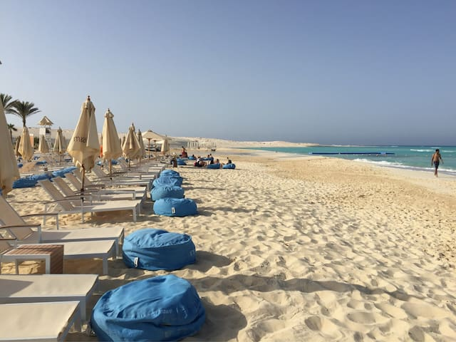 Magical Beach House on Mediterranean (Marassi)