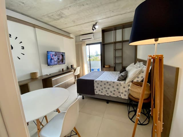 Dormitorio + home office