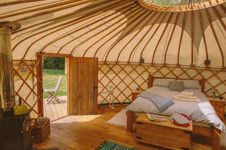Round the Woods - Oak Tree Yurt