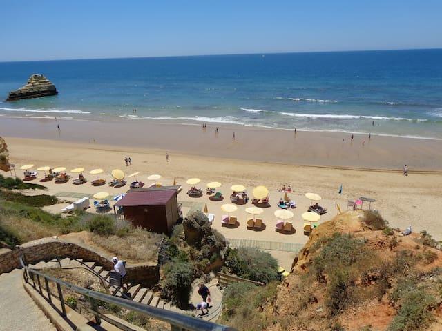 Praia a 50 metros