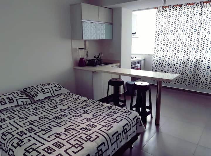 Apartaestudio tipo loft Bulevar 21