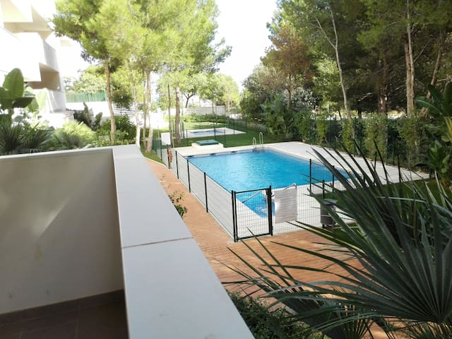 Apartment 2Bd with garden next to the airport - Málaga