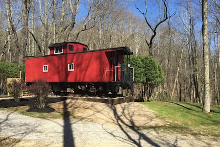 The Hocking Hills Caboose - South Bloomingville - Vonat