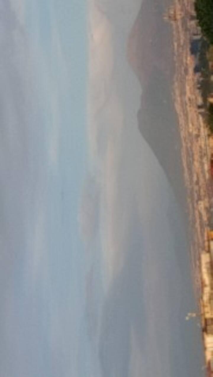 appartamento con vista mozzafiato sul Vesuvio