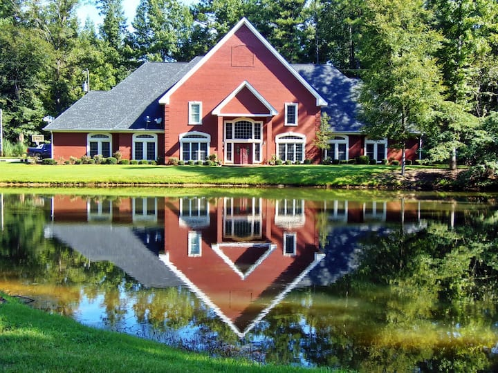 Private Gated Lake Front Retreat