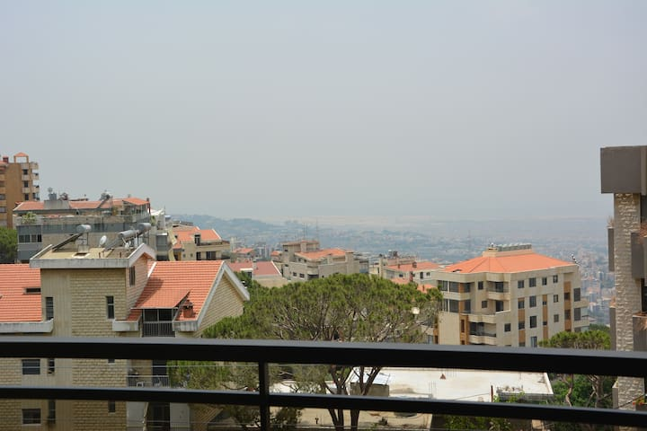 Fully furnished apartment with Panoramic View