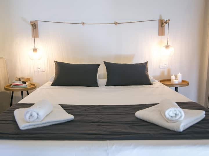 Thira Double Room with Sea View