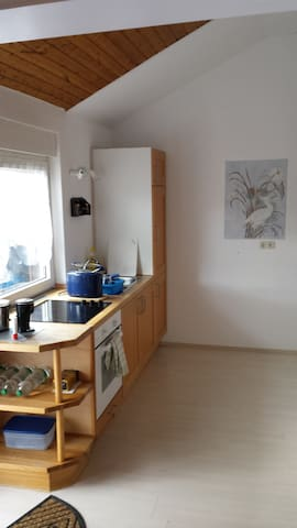 Schöne Studiodachwohnung - Weinheim - Apartment