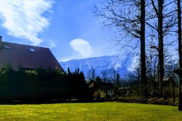 Domek u podnóża Babiej Góry