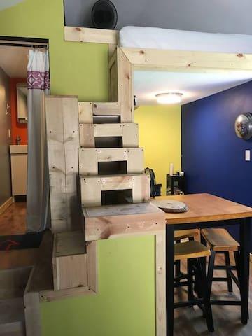 SoBro Tiny House Experience on 54th and the Monon