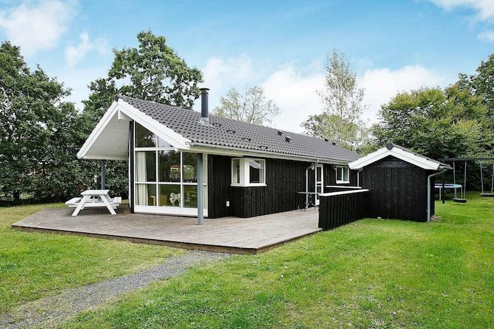 Cozy Holiday Home in Hadsund Near Family-friendly Beach