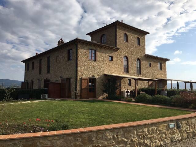 Prachtig Countryhouse in de Toscaanse heuvels - Volterra - Villa