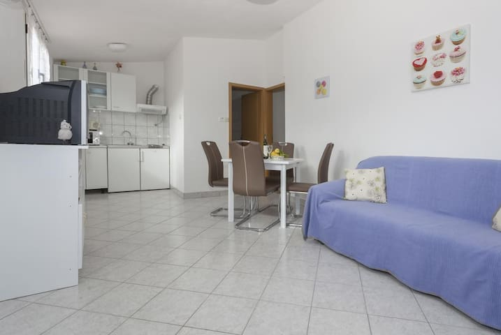 One bedroom apartment with air-conditioning Stomorska, Šolta (A-14960-d)